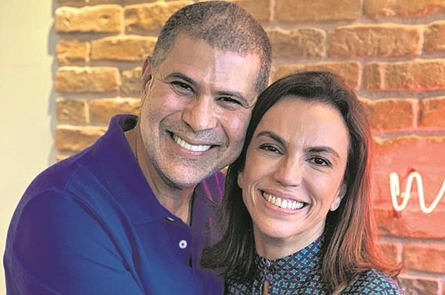 Ana Paula Araujo e Cacau Hygino (Foto: Yuri Garneiro)