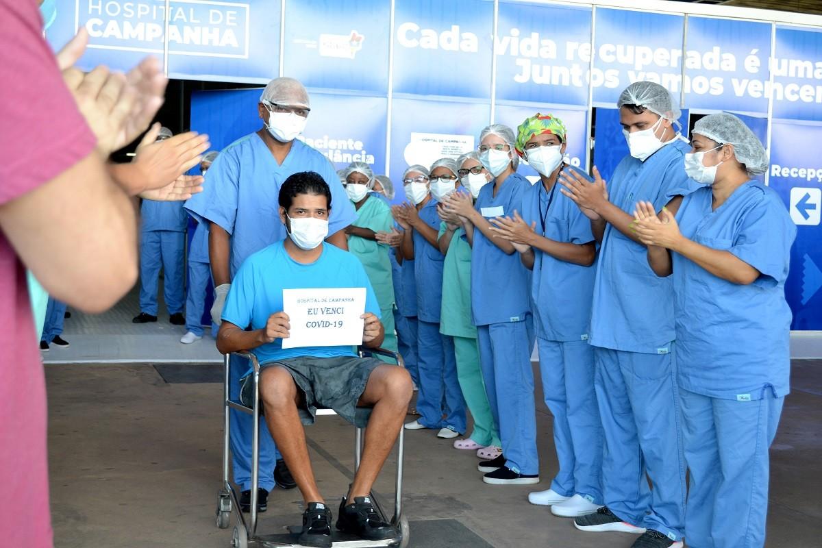 'Essa doença não é uma brincadeira' , diz primeiro paciente curado da Covid-19 em Hospital de Campanha de São Luís