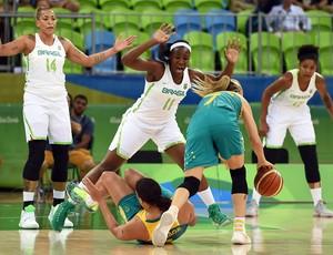 Brasil x Austrália; basquete feminino; olimpíada 2016 (Foto: Divulgação/FIBA)