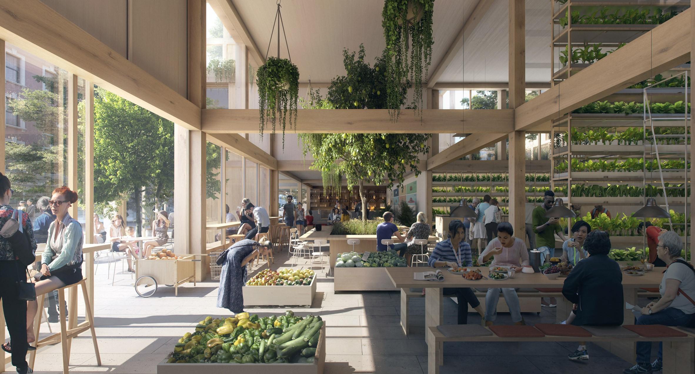 Projeto de bairro sustentável IKEA (Foto: Divulgação)
