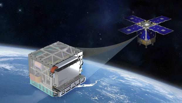 O DSAC tem o tamanho de um refrigerador. O relógio pode revolucionar as viagens ao espaço (Foto: Divulgação/Nasa)