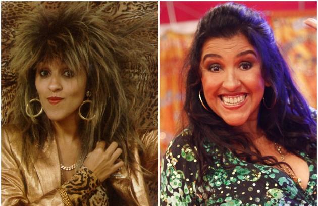 Regina Casé interpretou uma das personagens mais marcantes da história: Tina Pepper. ela sonhava em ser cantora e tinha como ídolo Tina Turner (Foto: Arquivo/Divulgação)