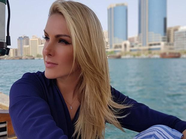 Ana Hickmann em Dubai (Foto: Arquivo pessoal)