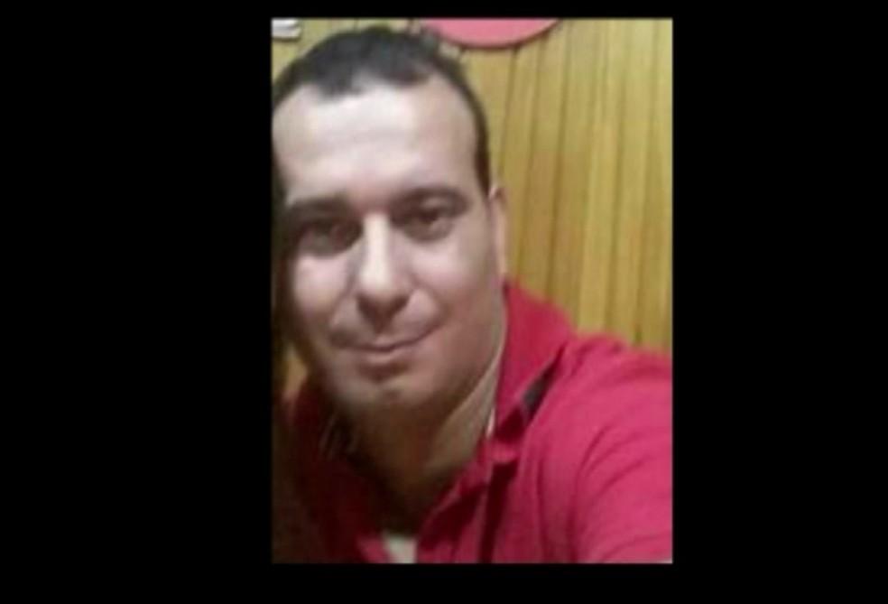 Sargento foi morto em São João de Meriti neste sábado (26) (Foto: Reprodução / TV Globo)