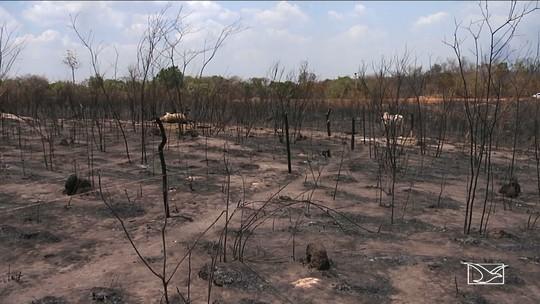 Incêndio registrado em Governador Luiz Rocha assusta população