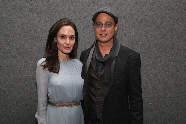 Brad Pitt and Angelina Jolie (picture: Getty Images)