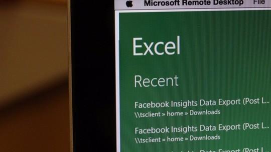 Foto: (Edição colaborativa começa a chegar para o Excel para Windows (Foto: Carolina Ochsendorf/TechTudo))
