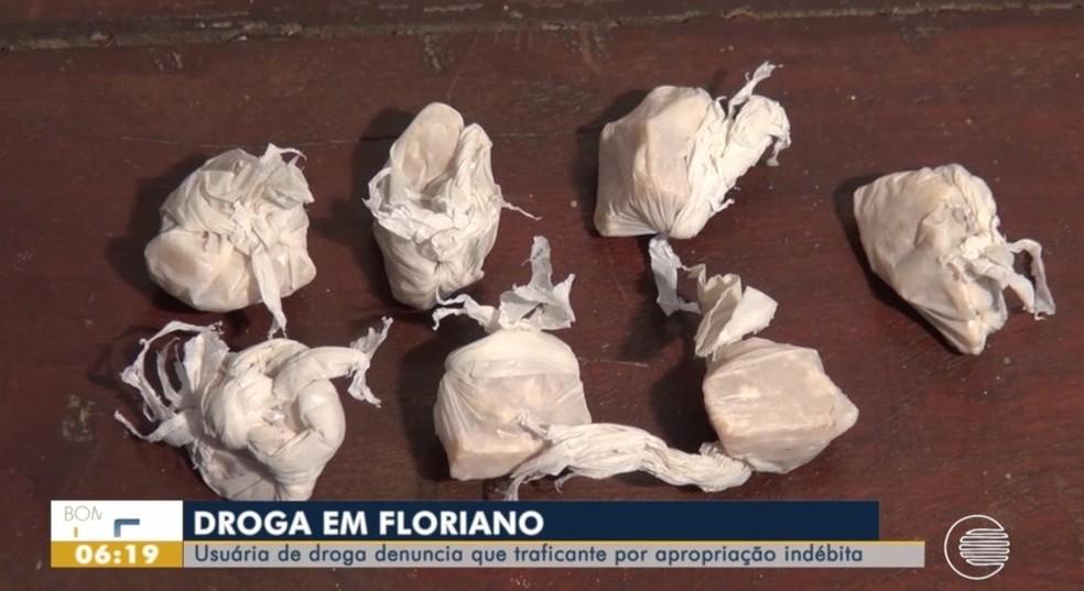 Polícia localizou drogas na casa do suspeito  — Foto: Reprodução/TV Clube