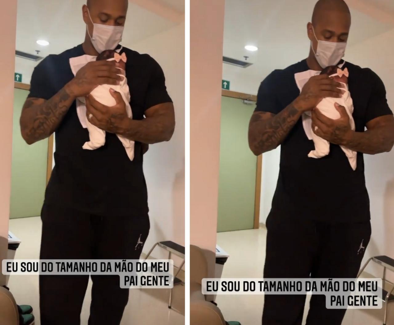 Léo Santana e Liz (Foto: Instagram)
