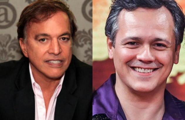 Danton Mello será Claudio Pessutti, o sobrinho de Hebe (Foto: Reprodução e TV Globo)