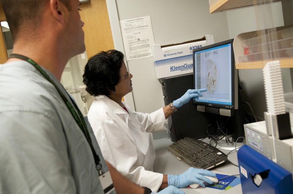 Doença de Alzheimer: novas pesquisas se concentram na medição dos níveis de uma proteína conhecida como p-tau217  — Foto: Alzheimer´s Association