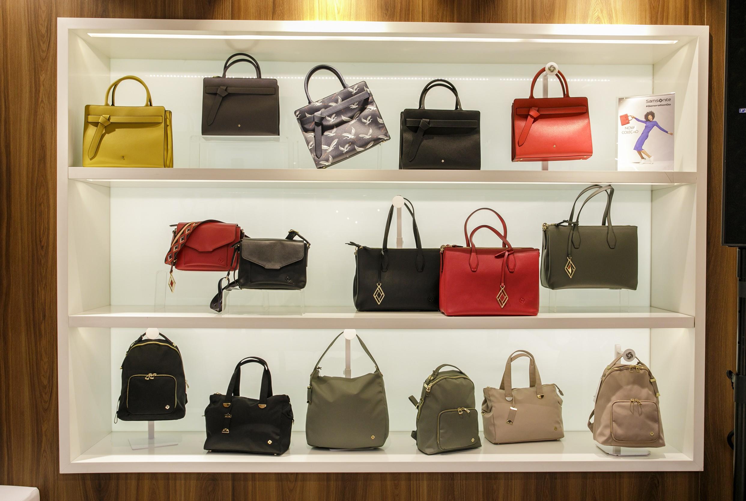 Bolsas e mochilas fazem parte da nova coleção da Samsonite (Foto: Mariana Pekin/G.lab)