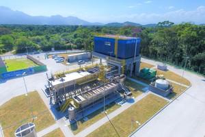 Estação de tratamento de água da Iguá
