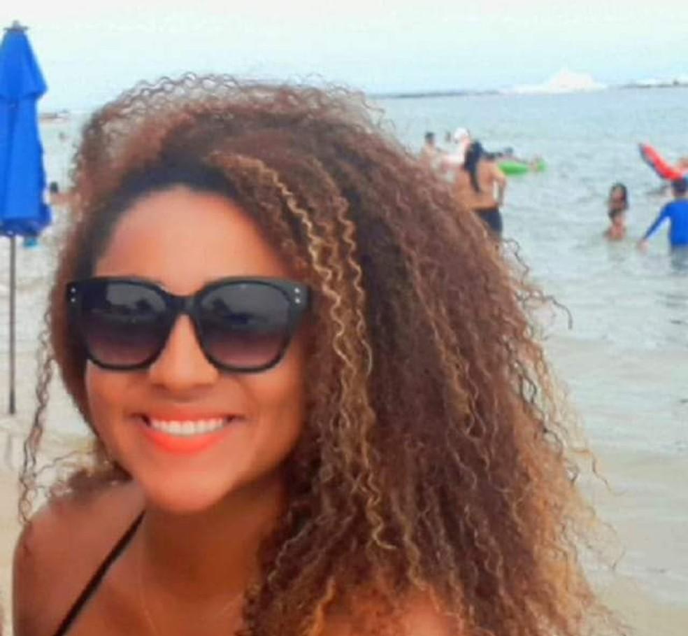 Policial penal Laudicéia Bezerra Siqueira Campos morreu vítima de Covid-19, diz Singeperon. — Foto: Reprodução/Redes sociais