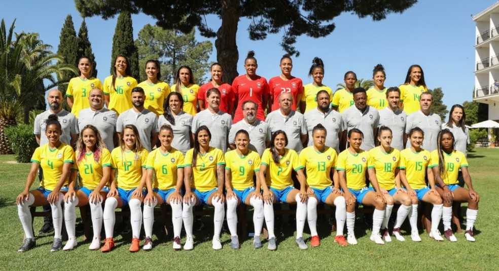 Seleção feminina estreia no domingo na Copa do Mundo — Foto: CBF