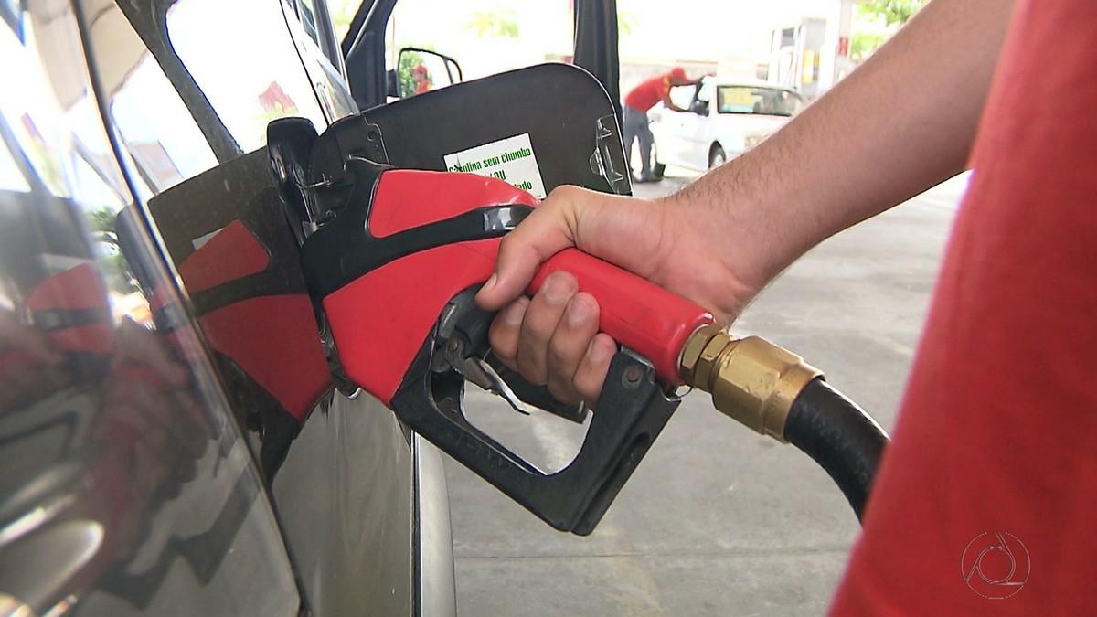 Preço do litro da gasolina em João Pessoa oscilou até 91 centavos em 2017