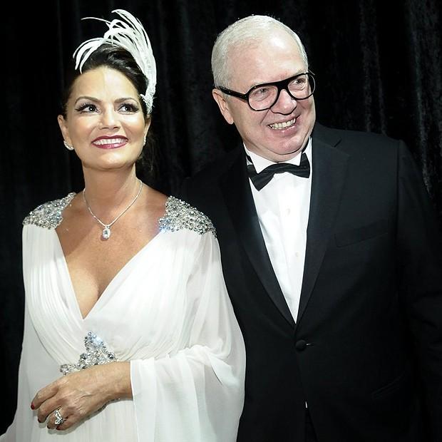 Luiza Brunet e Lirio Parisotto (Foto: Francisco Cepeda e Léo Franco/AgNews)