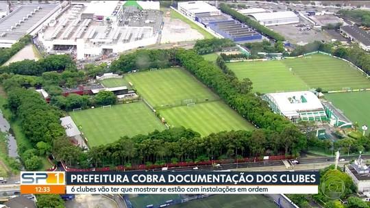 Prefeitura de SP começa a inspecionar CTs; clubes suspendem alojamentos e pedem prazo