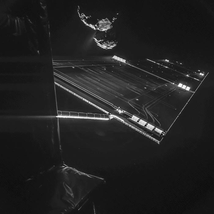 Registro da Rosetta (Foto:  (FOTO: ESA/ROSETTA/PHILAE/CIVA))