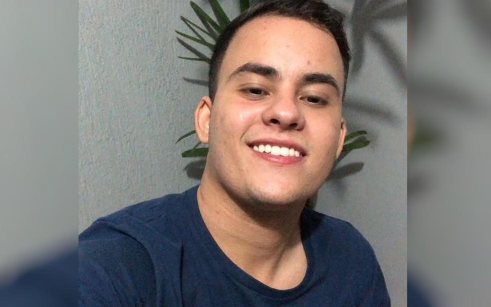 Matheus da Mata Oliveira, de 24 anos — Foto: Arquivo Pessoal/Gislaine da Mata