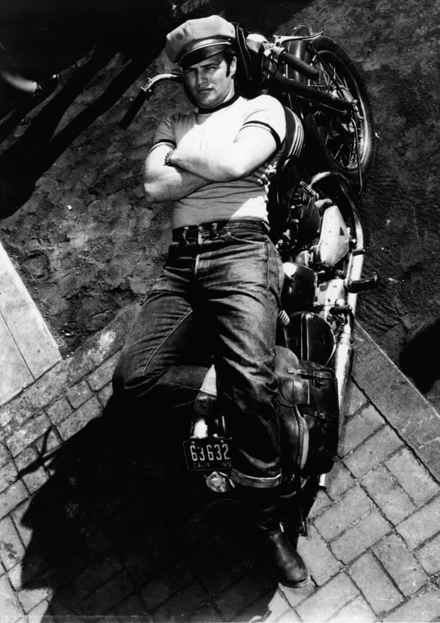 Marlon Brando vestindo jeans Levis (Foto: Divulgação)