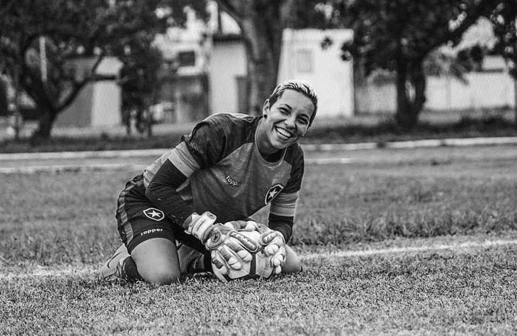 Carol Aquino na passagem pelo Botafogo — Foto: Divulgação/Botafogo