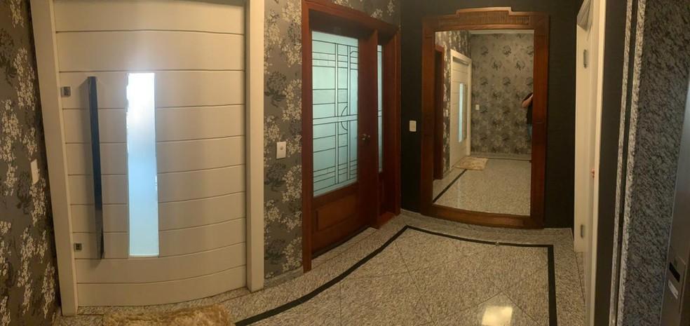 Imagem mostra o interior de apartamento — Foto: Divulgação