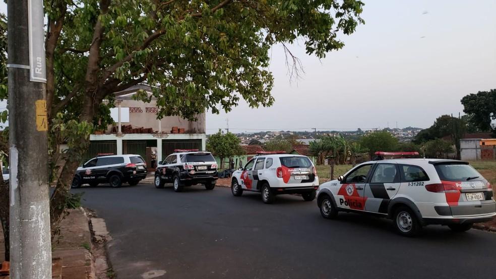 Equipes cumpriram mandados de prisão na região Centro-Oeste Paulista durante operação conjunta — Foto: Polícia Civil/Divulgação