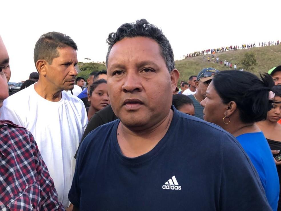 Emilio González, prefeito da municipalidade de Gran Sabana — Foto: Emily Costa/G1 RR