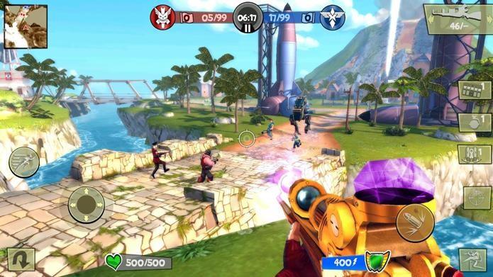 Clássico Bliz Brigade é atualizado no Android com novas armas e novo modo (Foto: Divulgação / Gameloft)