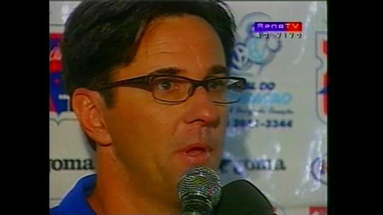 Lanterna do Brasileiro, Paraná já foi pedra no sapato do Flamengo com goleada de 6 a 2