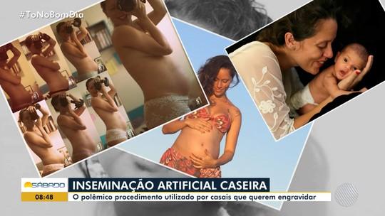 Fotógrafa baiana decide ter filho com amigo e faz inseminação artificial caseira