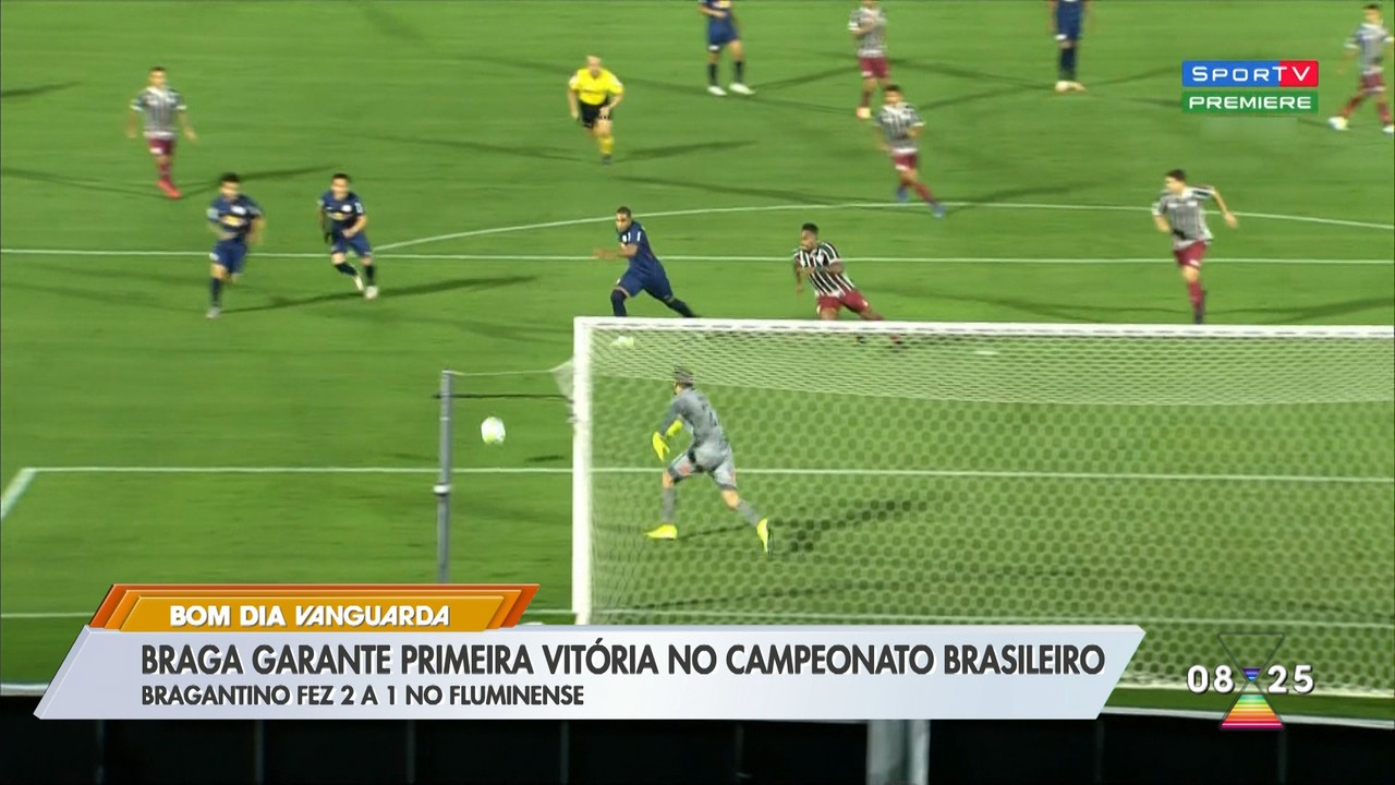 Bragantino garante a primeira vitória no campeonato brasileiro