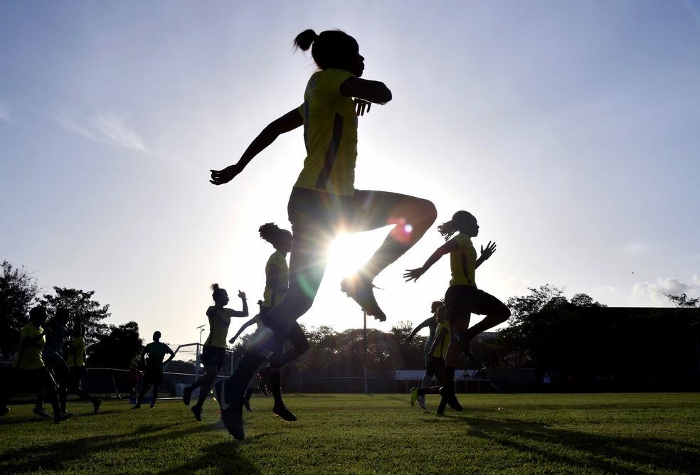 Jamaica vai disputar a Copa do Mundo Feminina pela primeira vez na história  — Foto: AFP