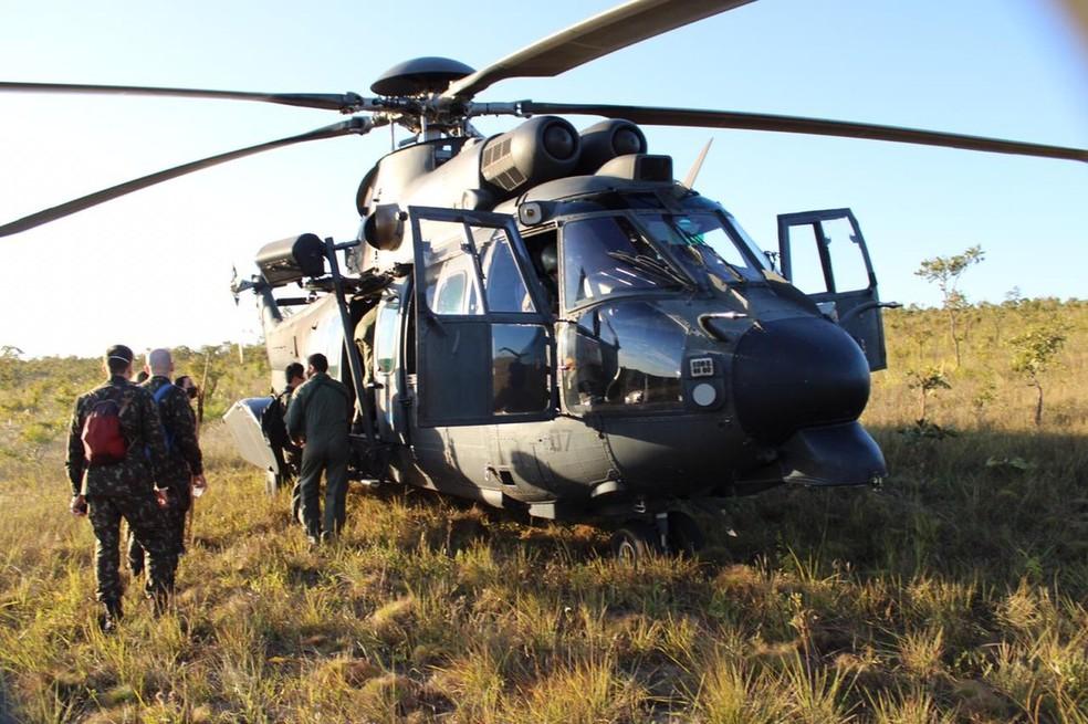 A equipe de 24 profissionais de saúde das Forças Armadas atenderam indígenas da etnia Xavante entre os dias 28 de julho e 1º de agosto. — Foto: Ministério da Defesa