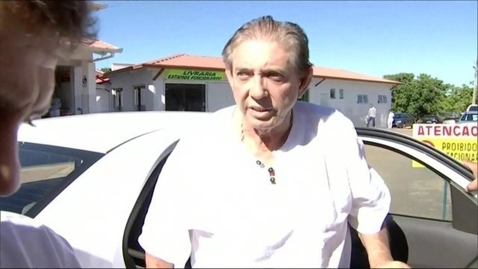 João de Deus é suspeito de abuso sexual  — Foto: Reprodução/ TV Anhanguera