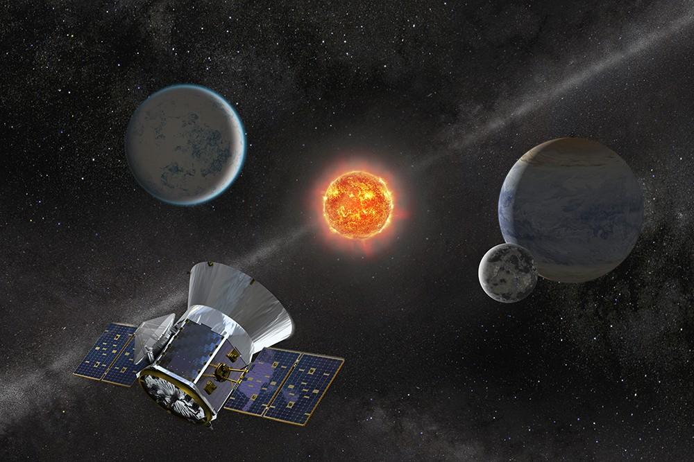 Satélite TESS será lançado hoje pela NASA (Foto: NASA's Goddard Space Flight Center)