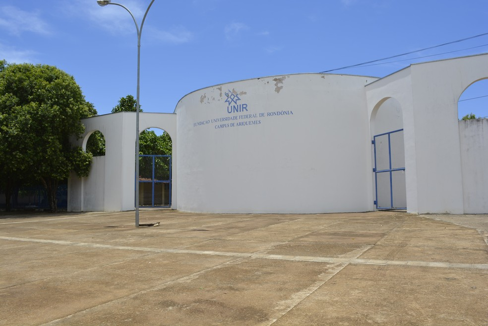 Campus da Unir em Ariquemes — Foto: Diêgo Holanda/G1