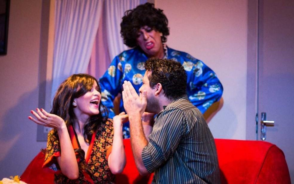 Projeto Terça no Teatro exibe a peça 'A Sogra Que Pedi a Deus', em Goiânia, Goiás — Foto: Reprodução/Teatro Sesi