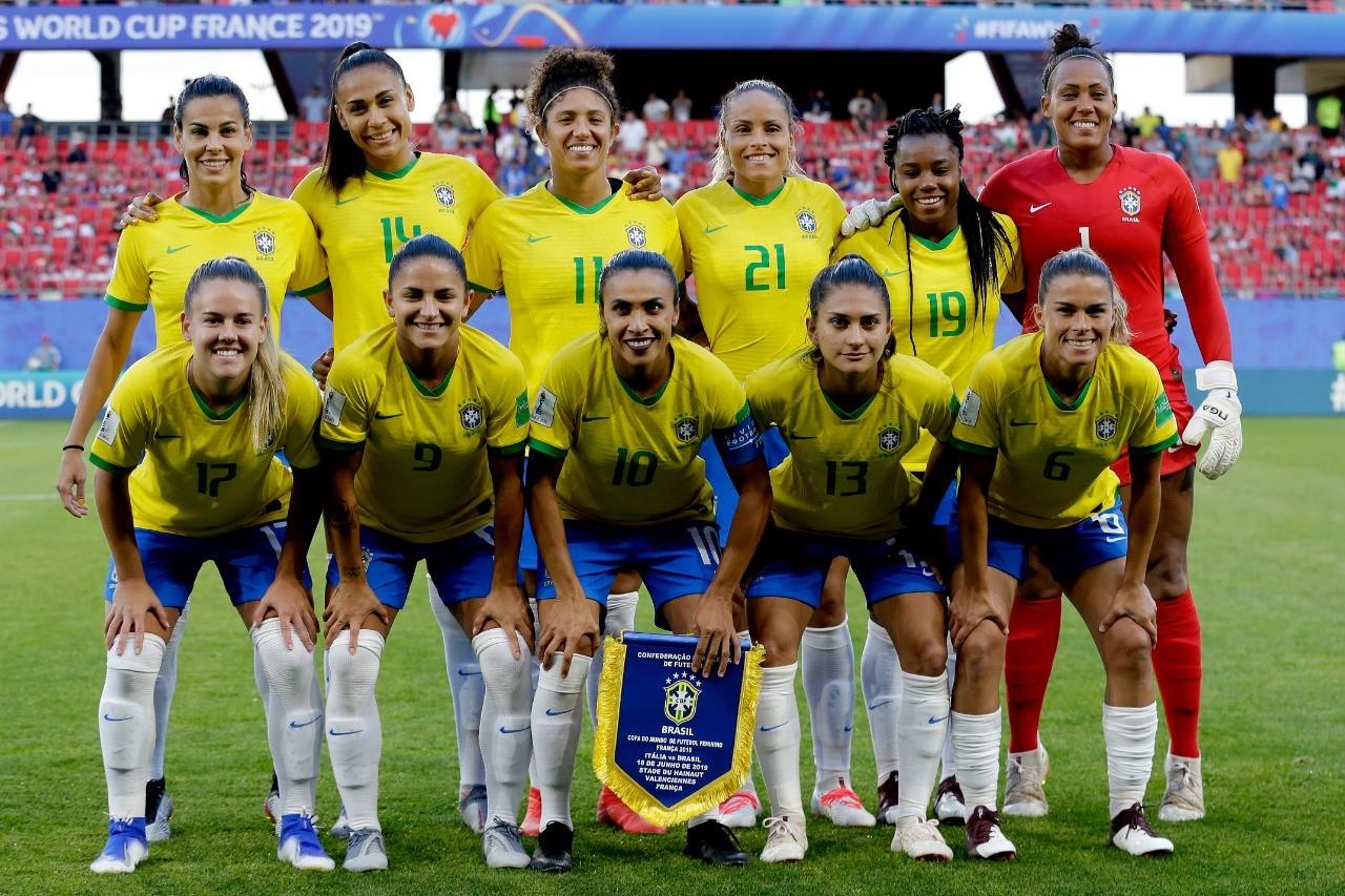As Referências De Beleza Da Seleção Brasileira De Futebol Feminino No Jogo Contra A Itália Vogue Beleza