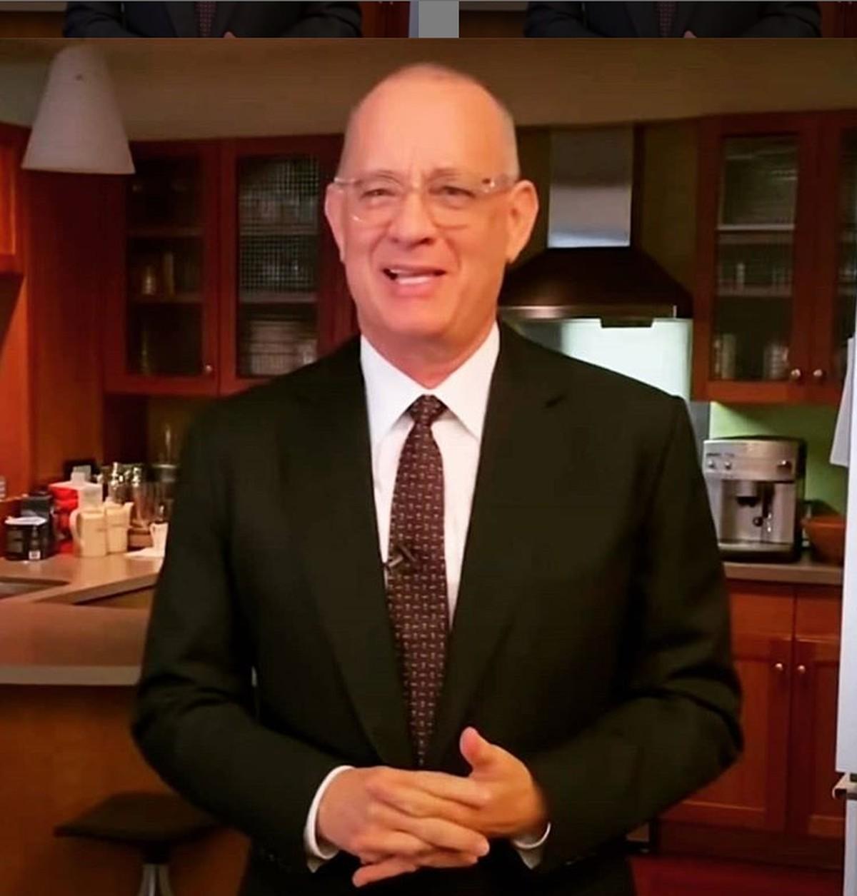 Tom Hanks apresenta programa de TV em sua casa após se curar de Covid-19 | Pop & Arte