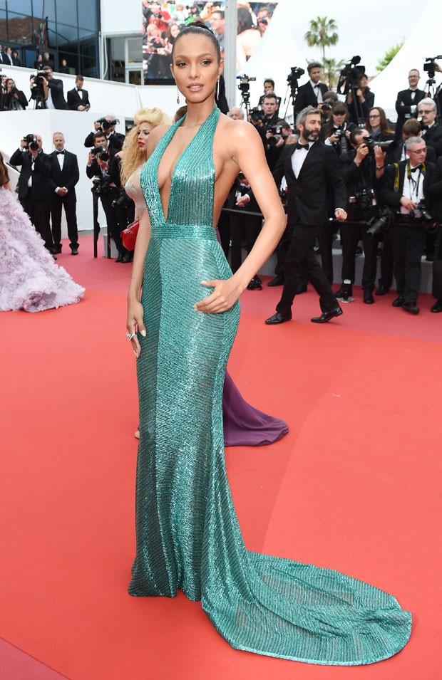 Laís Ribeiro em Cannes (Foto: Getty Images)