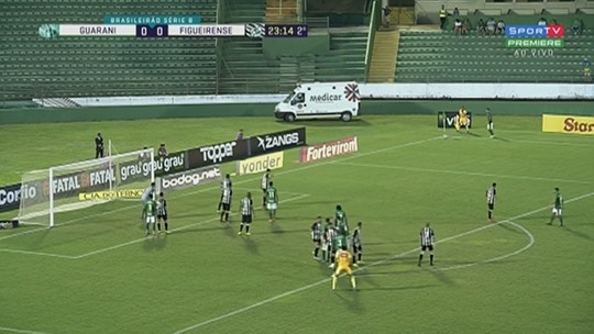 Guarani x Figueirense - Campeonato Brasileiro Série B 2019 - globoesporte.com