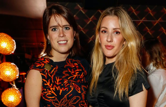 Ellie Goulding e a Princesa Eugenie (Foto: Getty Images)