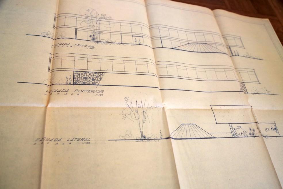 """Projeto previa a construção da """"Exposição Espírita Permanente"""". — Foto: Ruth Gobbo/Fundação Cultural de Uberaba"""