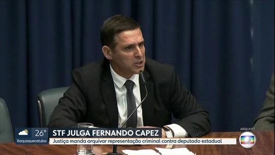 STF tranca ação penal contra deputado estadual do PSDB paulista Fernando Capez