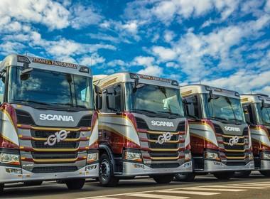 frota-caminhão-transporte-transportadora-G10-Scania (Foto: Tiago Barella/Scania)
