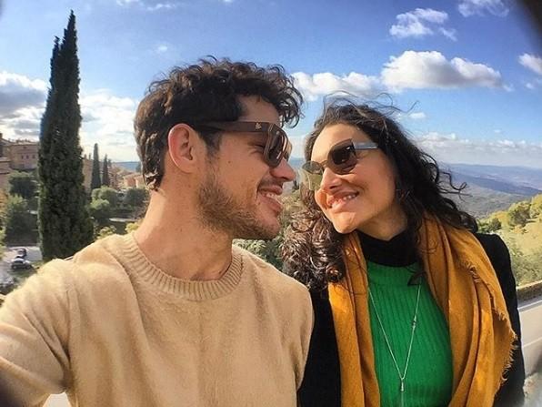 Débora Nascimento e José Loreto (Foto: Reprodução / Instagram)