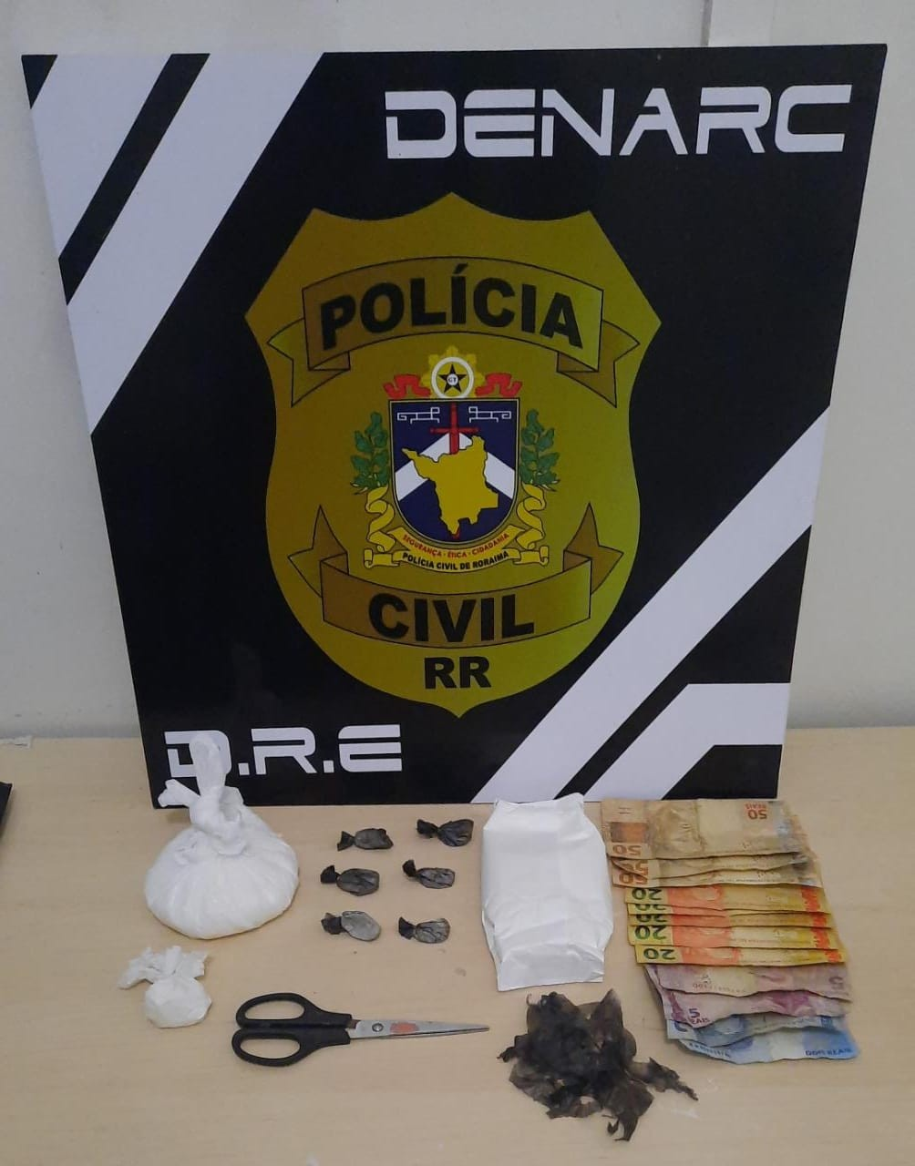 Sobrevivente de chacina que deixou 7 mortos é preso por tráfico de drogas em Roraima