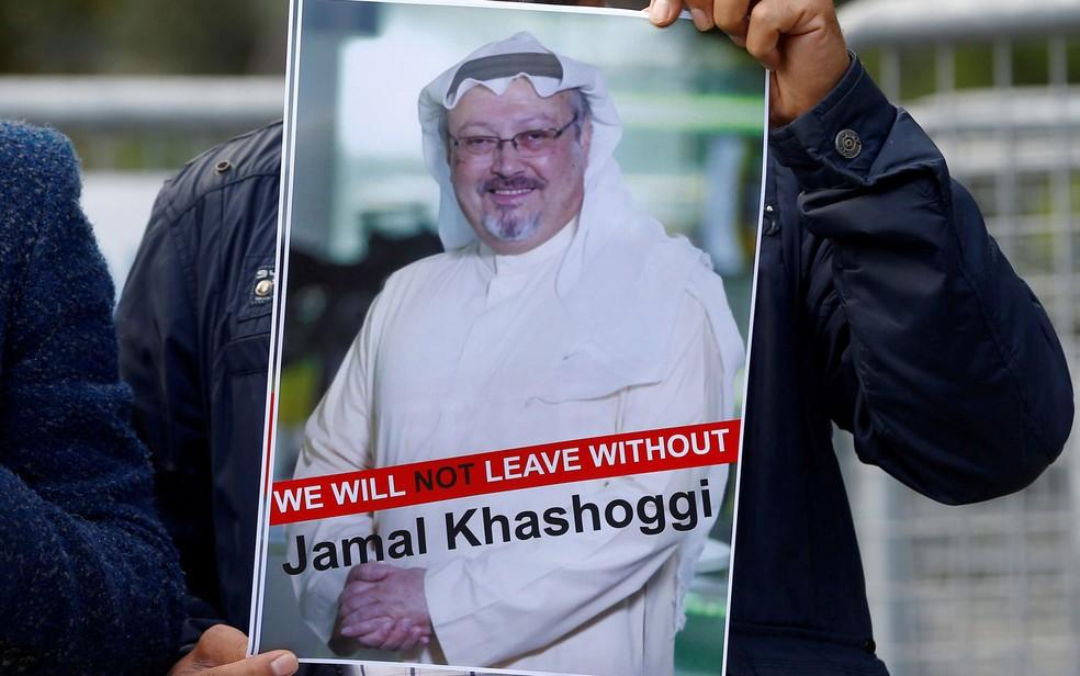 Khashoggi desapareceu em 2 de outubro — Foto: Reuters/Osman Orsal/File Photo